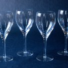 Crystal Wine Goblets - Set of 4 - 12 Ounce - Graceful Shape, Versatile Style