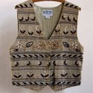 Vintage Women's Embroidered Cotton Vest - Karans Kollection - Fun Look With Jeans or Trousers