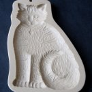 Vintage Brown Bag Cookie Art Tabby Cat Cookie Mold - Retired - Made in USA - Collectible
