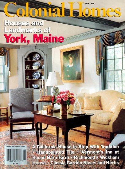 Home Magazin colonial homes magazine june 1996 vol 22 no 3