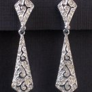 Vintage Panetta Rhinestone Drop Earrings - Fine Costume Jewelry From High Quality MidCentury Mark