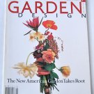 Garden Design Magazine - April May 1994 Back Issue