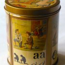 "Vintage ""Talking Alphabet"" Tin From the Netherlands – Unusual, Collectible"