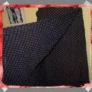 80s 80's Le Chateau Black & Diamond Brown Wrap Skirt S