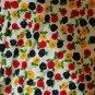 Vintage STELLA SLOAT Long Flower Floral skirt M