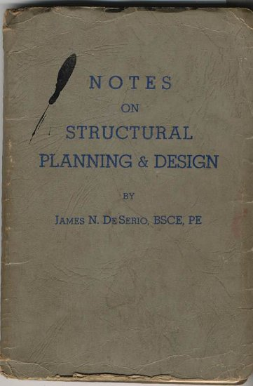 1947 Notes on Structural Planning Design engineering