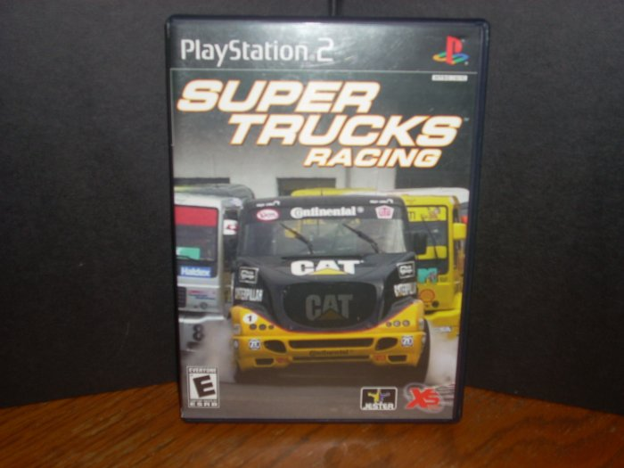 PS2: Super Trucks Racing(USED)