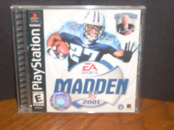 PS1/PSX: Madden 2001(USED)