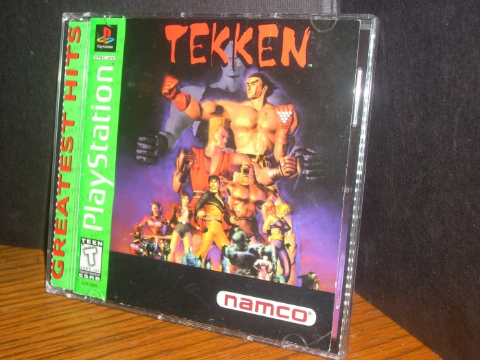 PS1/PSX: Tekken(USED) OUT OF STOCK