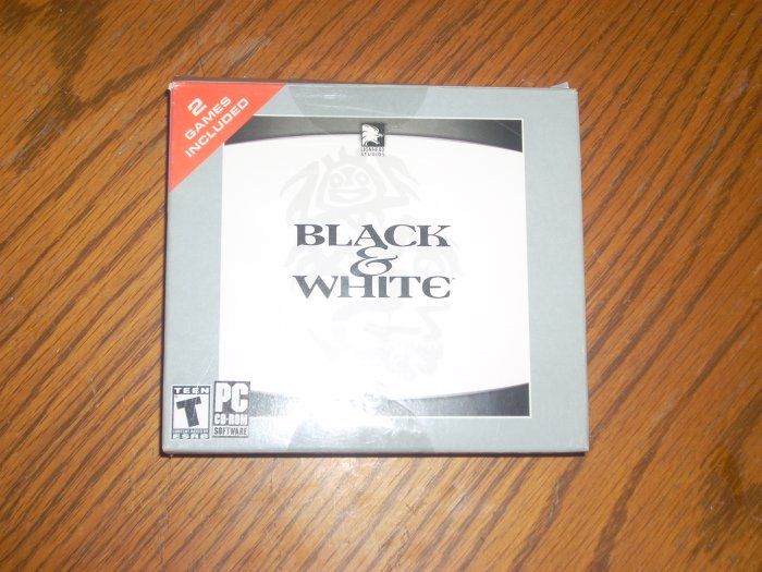 PC: Black & White w/ Creature Isle Expansion Pack *USED* OUT OF STOCK