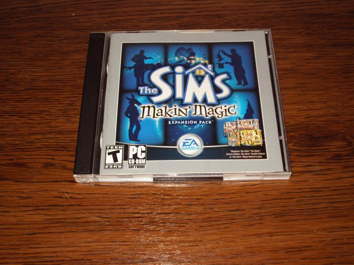 PC Sims Makin' Magic EXPANSION PACK *USED*  OUT OF STOCK