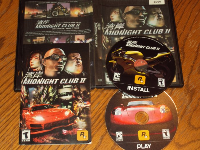 PC: Midnight Club II *USED*