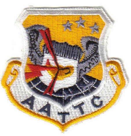 USAF AATTC PATCH Advanced Airlift Tactical Training Center WAR AIRCRAFT PILOT CREW