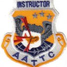 USAF AATTC INSTRUCTOR PATCH Advanced Airlift Tactical Training Center WAR AIRCRAFT PILOT Missouri