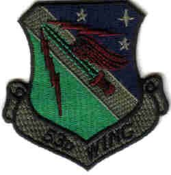 USAF 53D WING MILITARY PATCH WAR COMBAT FIGHTER JET PILOT