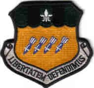 2ND BOMB WING Barksdale AFB, Louisiana USAF PATCH MILITARY WAR COMBAT AIRCRAFT PILOT CREW