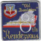 B-52 8TH RENDEZVOUS AT LANGLEY AFB VIRGINIA USAF PATCH BOMBER AIRCRAFT PILOTS CREW