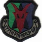 UNITED STATES AIR FORCE SQUADRON INSIGNIA PATCHES 177TH FIGHTER INTERCEPTOR GROUP NEW JERSEY $5