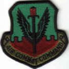 AIR COMBAT COMMAND USAF MILITARY UNIFORM PATCH Langley AFB, Virginia MAJCOM $3 PILOT INSIGNIA