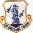 AIR NATIONAL GUARD Washington, District of Columbia USAF INSIGNIA PATCH  WAR AIRCRAFT PILOT CREW