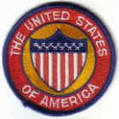 UNITED STATES OF AMERICA PATCH $4 USA STARS & STRIPES 13 STATES