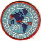 UNITED STATES OF AMERICA 1776 BICENTENNIAL SOUVENIR PATCH USA