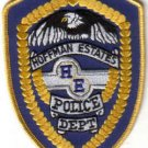 HOFFMAN ESTATES POLICE DEPT.PATCH ILLINIOS COPS CSI SECURITY OFFICER