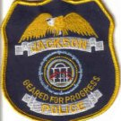 JACKSON POLICE UNIFORM PATCH MISSISSIPPI COPS CSI LAW OFFICER