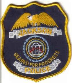 JACKSON POLICE UNIFORM PATCH MISSISSIPPI COPS CSI LAW OFFICER