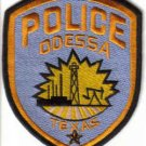 POLICE ODESSA TEXAS UNIFORM PATCH COPS CSI LAWMAN LAW OFFICER DRUGS GUNS CRIME
