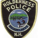 HOLDERNESS POLICE SQUAM LAKES N.H. UNIFORM PATCH ON GOLDEN POND NEW HAMPSHIRE COPS