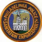 PHILADELPHIA POLICE SANITATION ENFORCEMENT PATCH LAW OFFICER COPS
