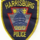 HARRISBURG POLICE PATCH PENNSYLVANIA COPS CSI LAW OFFICER