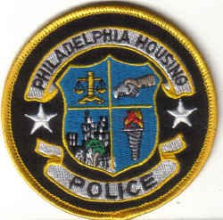 PHILADELPHIA HOUSING POLICE UNIFORM PATCH COPS CSI GUNS PISTOL RIFLE LAWMAN