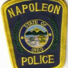 NAPOLEON POLICE UNIFORM PATCH STATE OF OHIO COPS CSI LAW OFFICER