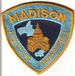 MADISON POLICE DEPARTMENT UNIFORM PATCH WISCONSIN COPS CSI LAW OFFICER
