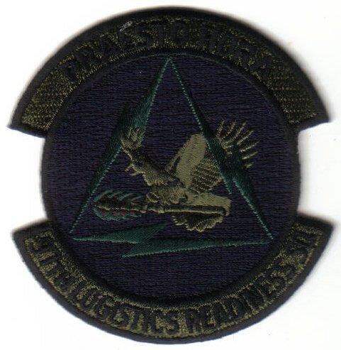 97TH LOGISTICS READINESS SQ USAF PATCH $5 INSIGNIA EMBLEM ALTAS AFB OKLAHOMA WAR AIRCRAFT