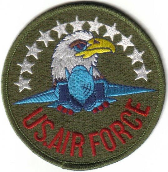 U.S.AIR FORCE MILITARY PATCH $5 EMBLEM WAR COMBAT AIRCRAFT PILOT