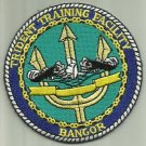 TRIDENT TRAINING FACILITY BANGOR U.S. NAVY PATCH SAILOR SOLDIER EDUCATION USA