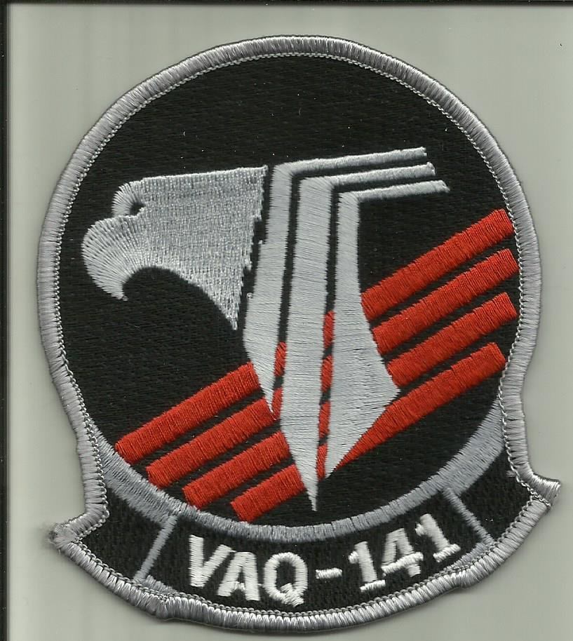 VAQ-141 U.S.NAVY PATCH EA-18G Growler AIRCRAFT ELECTRONIC ATTACK SQ NAF JAPAN