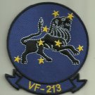 VF-213 U.S. NAVY PATCH BLACKLIONS WAR FIGHTERJET AIRCRAFT PILOT AVIATOR OCEANA
