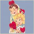 Vintage Valentine Card 1960s BEAUTY SHOP Your Style