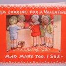 Vintage Valentine 3-D HALLMARK Looking For 1920s Series