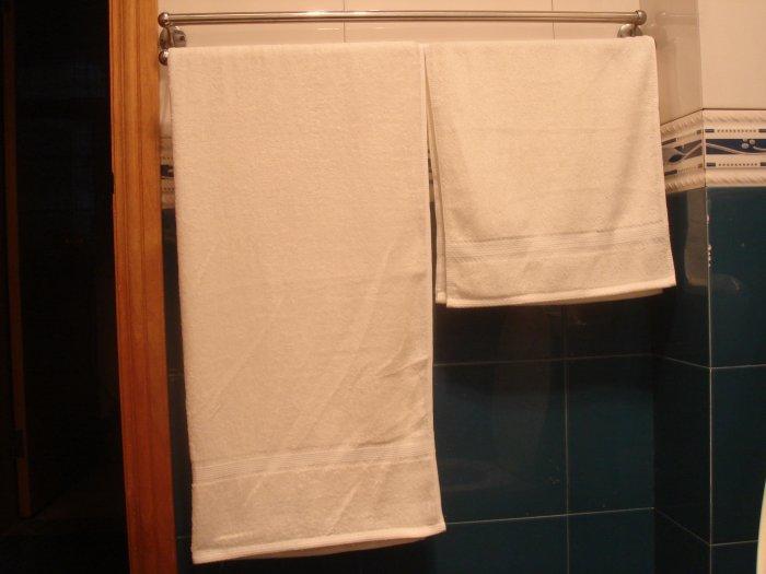 Bamboo Fiber Towels Couple Pack(2 face towels,2 bath towels)