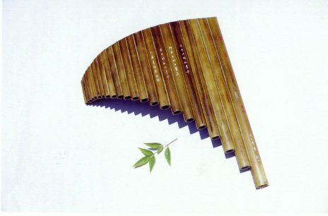 JY-304--22-Tube Special Professional Bamboo Pan Flute