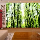 Wall Mural Wall Decor Wall Art--Willow Wood