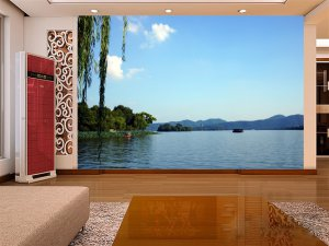 Wall Mural Wall Decor Wall Art--West Lake Scenic Spot