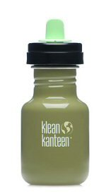 Klean Kanteen 12 oz GREEN MOSS Stainless Steel sippy cup