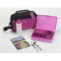 Laptop Lunches Bento Box Lunch System in PINK