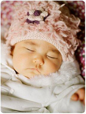 Zooni handmade hat FLOWER POWER - Small